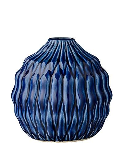 Vase-Heavy-Structure-Navy-Ceramic-15xH15-cm-0
