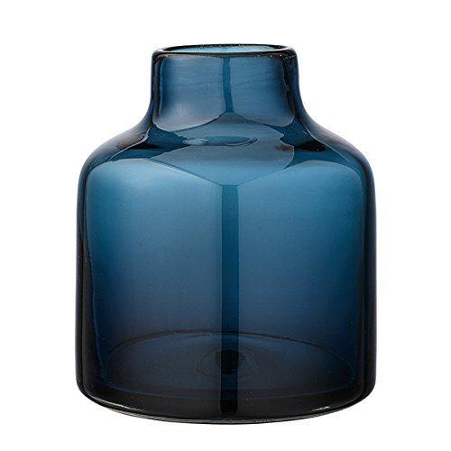 Vase-Navy-Glass-20xH23-cm-0