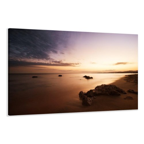 visario leinwandbilder 5023 bild auf leinwand strand 120 x 80 cm online kaufen bei woonio. Black Bedroom Furniture Sets. Home Design Ideas