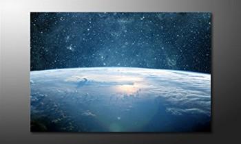 WandbilderXXL-Gedrucktes-Leinwandbild-Earth-Planet-I-120x80cm-in-6-verschiedenen-Gren-Fertig-gespannt-auf-Holzkeilrahmen-Gnstige-Leinwanddrucke-fr-Kinderzimmer-Schlafzimmer-0