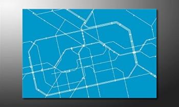 WandbilderXXL-Gedrucktes-Leinwandbild-Metro-Berlin-120x80cm-in-6-verschiedenen-Gren-Fertig-gespannt-auf-Holzkeilrahmen-Gnstige-Leinwanddrucke-fr-Kinderzimmer-Schlafzimmer-0