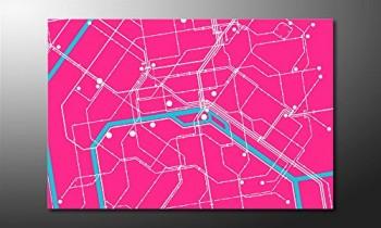 WandbilderXXL-Gedrucktes-Leinwandbild-Metro-Paris-120x80cm-in-6-verschiedenen-Gren-Fertig-gespannt-auf-Holzkeilrahmen-Gnstige-Leinwanddrucke-fr-Kinderzimmer-Schlafzimmer-0