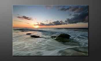 WandbilderXXL-Gedrucktes-Leinwandbild-Ocean-Sunset-120x80cm-in-6-verschiedenen-Gren-Fertig-gespannt-auf-Holzkeilrahmen-Gnstige-Leinwanddrucke-fr-Kinderzimmer-Schlafzimmer-0