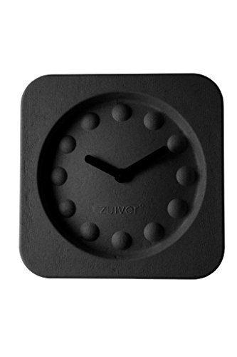 Wanduhr-PULP-TIME-black-von-Zuiver-aus-Papierzellstoff-0