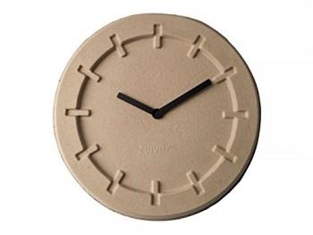Wanduhr-PULP-TIME-rund-beige-von-Zuiver-aus-Papierzellstoff-0
