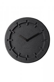 Wanduhr-PULP-TIME-rund-black-von-Zuiver-aus-Papierzellstoff-0