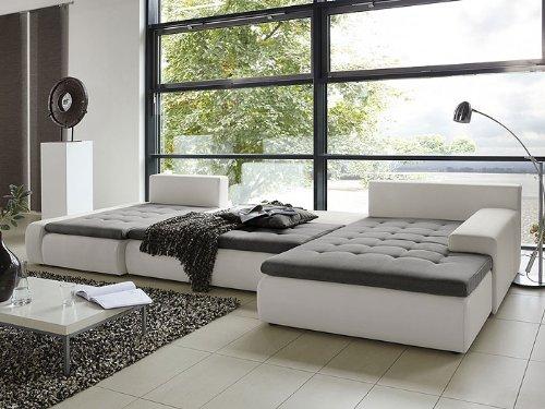 wohnlandschaft cayenne 389x212 162cm braun sofa ecksofa polsterecke schlafsofa online kaufen bei. Black Bedroom Furniture Sets. Home Design Ideas