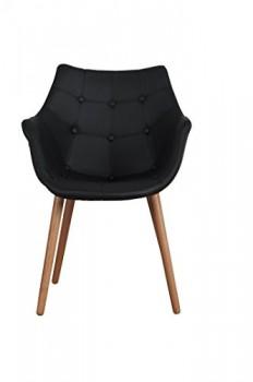 Zuiver-Desinger-Stuhl-ELEVEN-BLACK-Kunstleder-schwarz-0