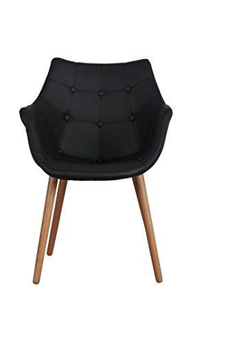 zuiver desinger stuhl eleven black kunstleder schwarz. Black Bedroom Furniture Sets. Home Design Ideas