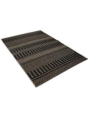 benuta teppiche moderner designer in outdoor teppich naoto anthrazit 200x290 cm gut siegel. Black Bedroom Furniture Sets. Home Design Ideas