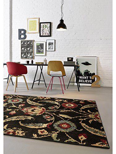 benuta Teppiche: Moderner Designer Teppich Opulence Schwarz 80x150 ...