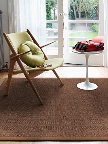 benuta teppiche moderner designer teppich sisal beige 200x300 cm schadstofffrei 100 sisal uni. Black Bedroom Furniture Sets. Home Design Ideas