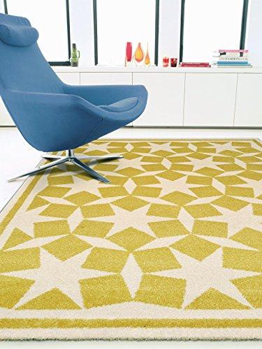 benuta teppiche teppich anis gelb 240x340 cm oeko tex. Black Bedroom Furniture Sets. Home Design Ideas