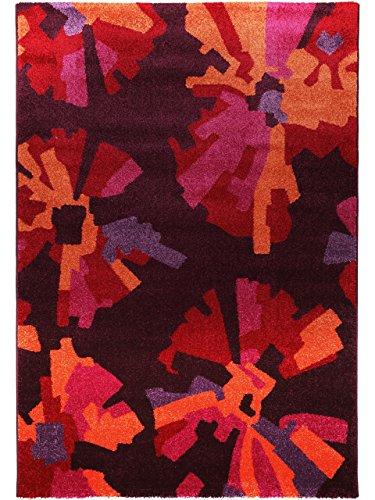 benuta teppiche teppich modern hippie lila 140x200 cm. Black Bedroom Furniture Sets. Home Design Ideas