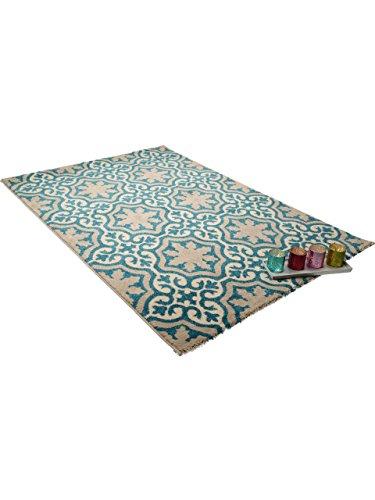 benuta teppiche teppich mylin blau 300x400 cm. Black Bedroom Furniture Sets. Home Design Ideas