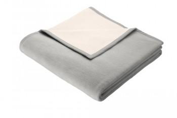 bocasa-35846-Pure-Nature-silber-ca-180-x-220-cm-50-Schurwolle-50-Baumwolle-0