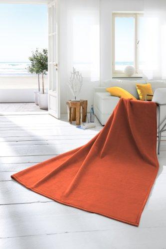 bocasa by biederlack 240929 wohndecke thermosoft terracotta online kaufen bei woonio. Black Bedroom Furniture Sets. Home Design Ideas