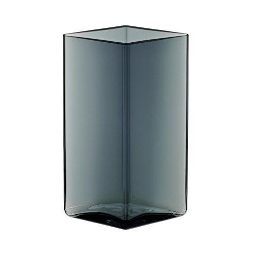 iittala-Ruutu-Bouroullec-Vase-115x180mm-grau-rautenform-0