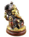 indischer-Gott-Ganesha-Figur-bemalt-braun-handgefertigte-Messing-StatueGeburtstagsgeschenk-9-x-6-cm-x-6-cm-0-0