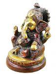 indischer-Gott-Ganesha-Figur-bemalt-braun-handgefertigte-Messing-StatueGeburtstagsgeschenk-9-x-6-cm-x-6-cm-0-1