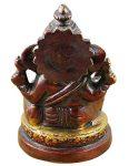 indischer-Gott-Ganesha-Figur-bemalt-braun-handgefertigte-Messing-StatueGeburtstagsgeschenk-9-x-6-cm-x-6-cm-0-2