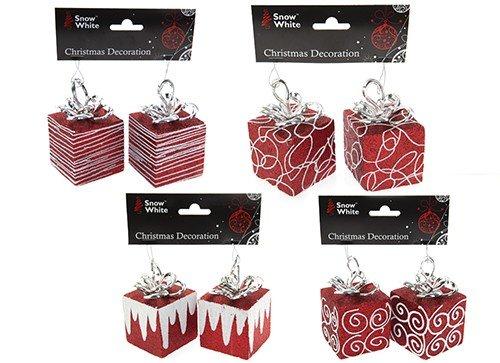 8 x rot geschenk boxen geschenkboxen weihnachten for Weihnachtsdeko geschenke