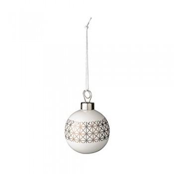 Bloomingville-Weihnachtskugel-Porzellan-wei-gold-55cm-0