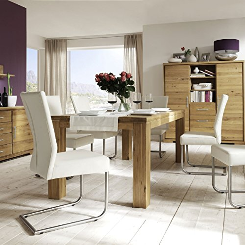 esstisch esszimmertisch viborg 200x95 massivholz wildeiche massiv ge lt breite 200 cm tiefe. Black Bedroom Furniture Sets. Home Design Ideas