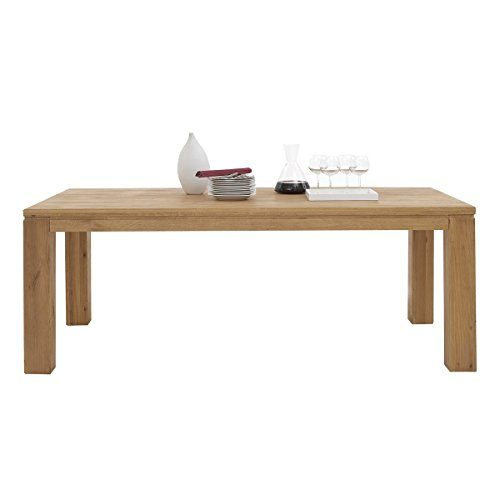 esstisch esszimmertisch viborg 200x95 massivholz wildeiche massiv ge lt breite 200 cm tiefe. Black Bedroom Furniture Sets. Home Design Ideas