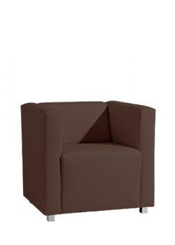 Max-Winzer-25392-1100-2070101-Sessel-Corrado-kubischer-Einzelsessel-Kunstleder-braun-0