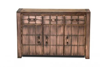 SIT-Mbel-2703-04-Sideboard-Sahara-3-Holztren-3-Schubladen-je-1-Boden-hinter-den-Holztren-circa-130-x-40-x-85-cm-0