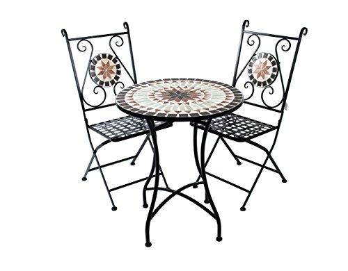 3er set mosaikst hle mosiaktisch tunis mosaikstuhl. Black Bedroom Furniture Sets. Home Design Ideas