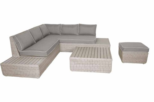 4 teiliges lounge set loungeset loungem bel gartenloungem bel rattanlounge gartengarnitur. Black Bedroom Furniture Sets. Home Design Ideas
