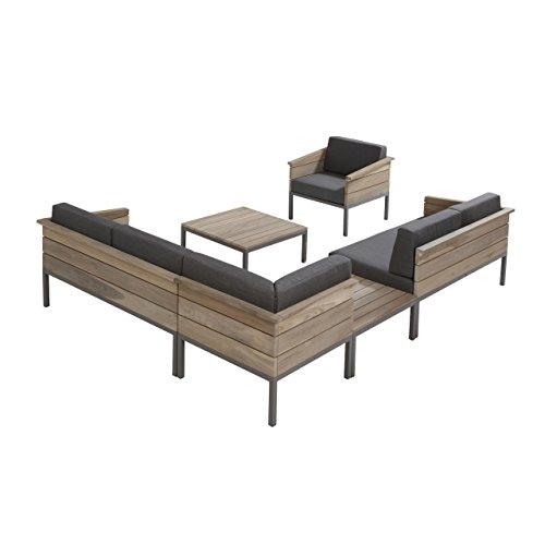 4seasons outdoor cava 6 teilige loungegruppe inkl kissen. Black Bedroom Furniture Sets. Home Design Ideas