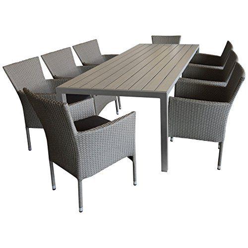 9tlg Sitzgruppe Gartengarnitur Terrassenmobel Gartenmobel Set