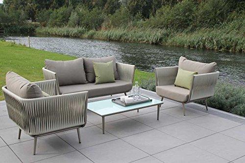 loungeset zo 3 teilig gartenm bel gartenset online kaufen bei woonio. Black Bedroom Furniture Sets. Home Design Ideas