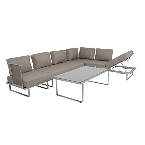 outdoor lounge sofa outliv corsica 4tlg multifunktional. Black Bedroom Furniture Sets. Home Design Ideas