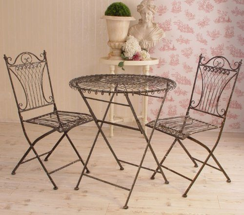 vintage gartengarnitur gartenm bel shabby chic antik look. Black Bedroom Furniture Sets. Home Design Ideas