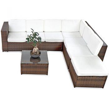 gartenm bel sets ab 6 personen wohnaccessoires online. Black Bedroom Furniture Sets. Home Design Ideas