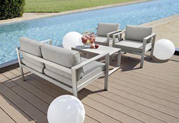greemotion-123529-Lounge-Set-San-Diego-4-teilig-136-x-79-x-70-cm-grau-silber-0