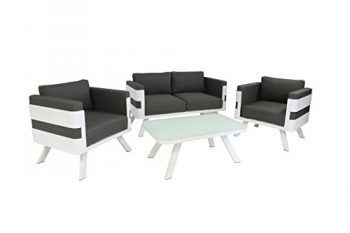 greemotion-123530-Lounge-Set-St-Tropez-4-teilig-157-x-79-x-70-cm-grau-wei-0