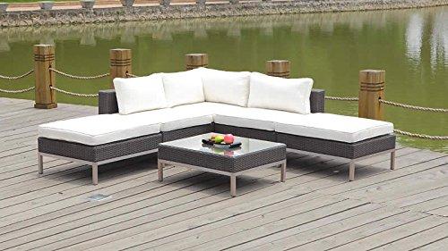 talfa polyrattan gartenm bel lounge dijon anthra online kaufen bei woonio. Black Bedroom Furniture Sets. Home Design Ideas
