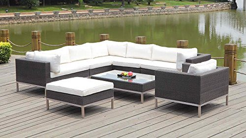 Talfa Rattan Gartenmobel Set Big Monaco Anthra