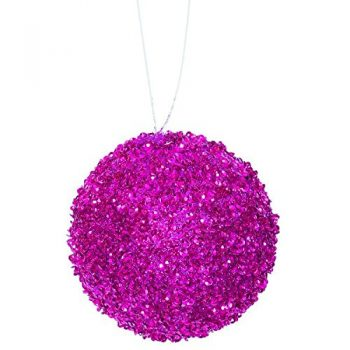 3ct-Fuschia-Sequin-and-Glitter-Drenched-Christmas-Ball-Ornaments-475-120mm-0