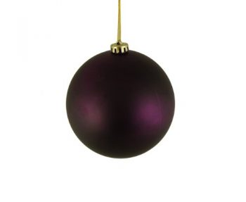 DAK-Matte-Sugar-Plum-Purple-Shatterproof-Christmas-Ball-Ornament-6-0