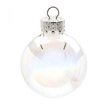Darice-2610-60-20-Piece-Glass-Ball-Shaped-Ornament-Iridescent-Glass-35mm-0