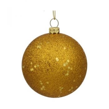 Northlight-Shatterproof-Antique-Gold-Holographic-Glitter-Christmas-Ball-Ornament-6-0