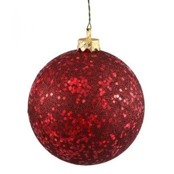 Northlight-Shatterproof-Burgundy-Holographic-Glitter-Christmas-Ball-Ornament-4-0