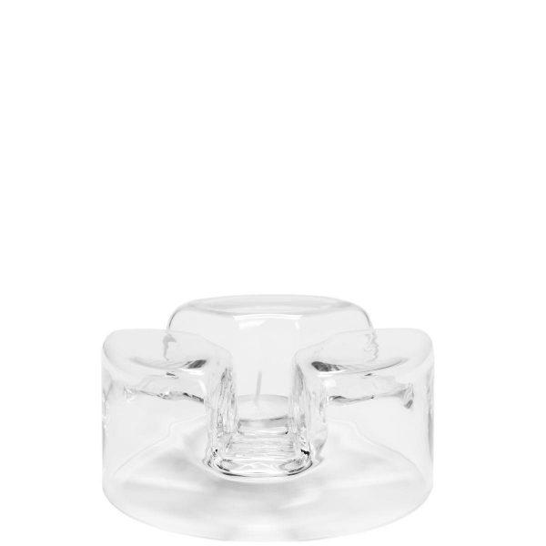 BUTLERS TEA TIME »Glas-Stövchen« weiß