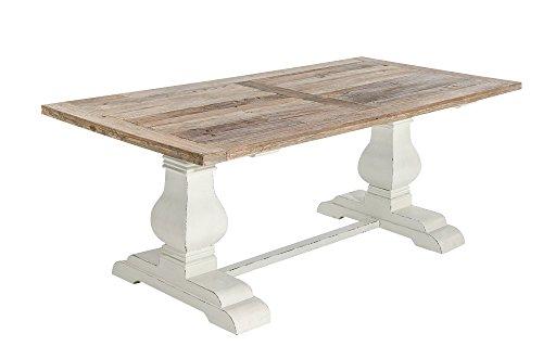 CLP-Holz-Esszimmer-Tisch-SEVERUS-handgefertigt-stabil-Shabby-chic-Landhaus-Stil-bis-zu-4-Gren-whlbar-0